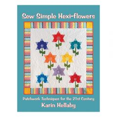 Sew Simple Hexi- Flowers Book