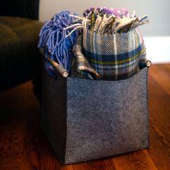 Korbond Hemingway Felt Deluxe Knitters Yarn Tote