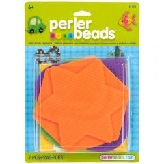 5 Large Shaped Pegboard Multipack  (Hexagon, Circle, Heart, Square, Star)