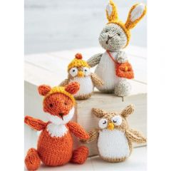4 Woodland Toys Knitting Pattern