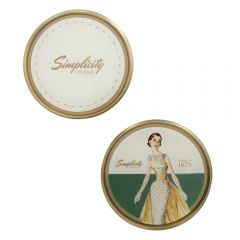 Sewing Pattern/ Paper Weight- Lady Green