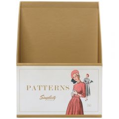 Sewing Pattern Box- Lady in Red