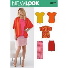 Kimono Jacket, Top & Skirt Sewing Pattern