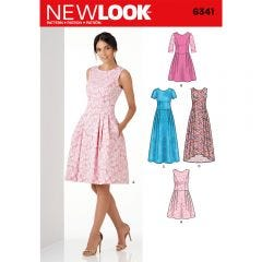 Princess Seam and Scoop back Dress Sewing Pattern