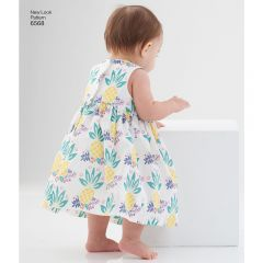 Babies Dress, Romper and Jacket Sewing Pattern