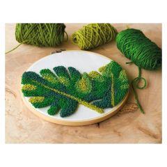 Punch Needle Kit- Leaves