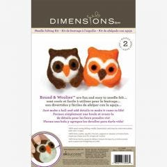 Double Felt Animal Kit- Owls
