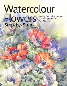 Watercolour Flowers Step By Step
