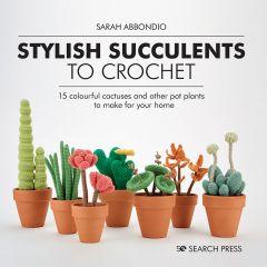 Stylish Succulents To Crochet