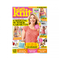 Let's Knit July Issue 2019