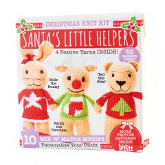 Santas Little Helpers Yarn Kit