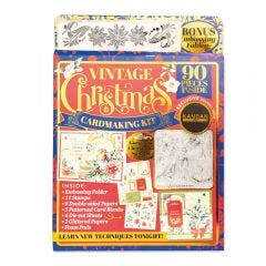 Kanban Vintage Christmas Card Kit