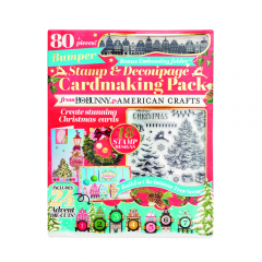 American Crafts Stamp & Decoupage Cardmaking Pack