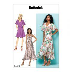 Wrap Dresses Sewing Pattern