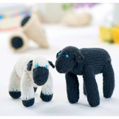 Baa Baa Black Sheep Play Set Knitting Pattern