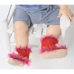 Baby Booties Knitting Pattern