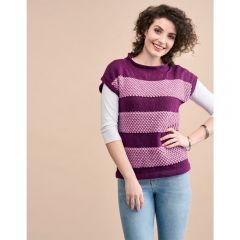 Blackberry Stitch Top Knitting Pattern