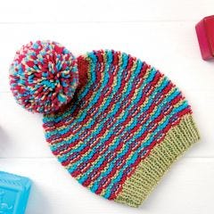 Cute Bobble Baby Hat Knitting Pattern