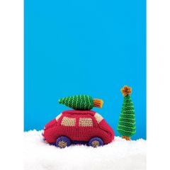 Car Ornament Knitting Pattern