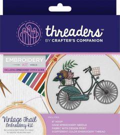 Threaders - Embroidery Kit - Vintage Trail