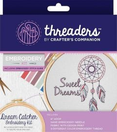 Threaders - Embroidery Kit - Dream Catcher