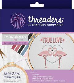 Threaders - Embroidery Kit - True Love