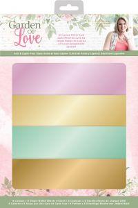 Garden of Love - A4 Luxury Mirror Card