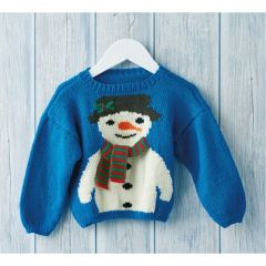 Child's Christmas Jumper Knitting Pattern