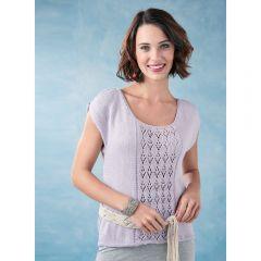 Cold Shoulder Top Knitting Pattern