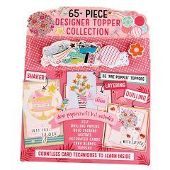 65 Piece Designer Topper Collection