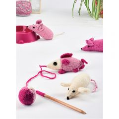 Cute Knitted Mice Cat Toys Knitting Pattern
