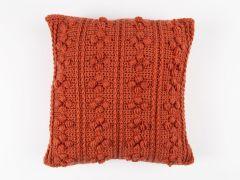 Bobble Ridge Cushion Crochet Kit and Pattern