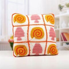 Seashell Blanket & Cushion Crochet Kit and Pattern