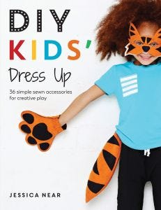 DIY Kids Dress Up Book