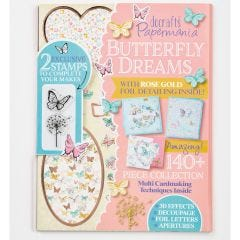 Docrafts Papermania Butterfly Dreams Card Kit