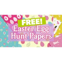 FREE Easter Egg Hunt Papers