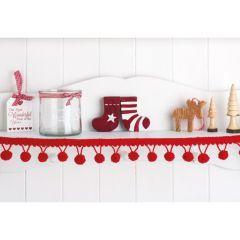 Easy Christmas Edging Knitting Pattern