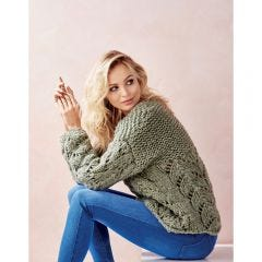 Easy Chunky Jumper Knitting Pattern