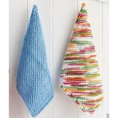 Easy Eco-Friendly Knitted Dishcloths Knitting Pattern