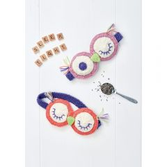 Eye Masks Knitting Pattern