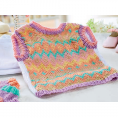 Fair Isle Tank Top