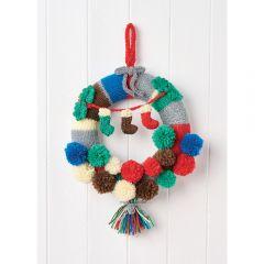 Festive Wreath Knitting Pattern