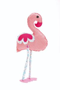 Florence the Flamingo Downloadable Stitching Pattern