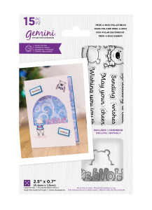 Gemini - Stamp & Die - Peek-A-Boo Polar Bear