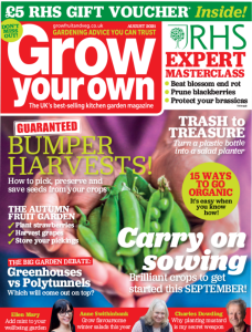 Grow Your Own September 2021