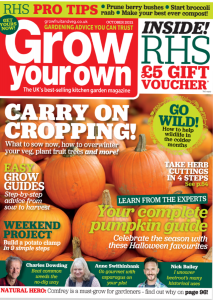 Grow Your Own October 2021 Cover