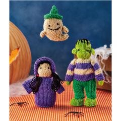 Halloween Characters Knitting Pattern