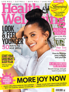 Health and Wellbeing August 2021 Front Cover