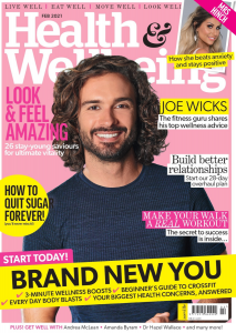 Health and Wellbeing February 2021 Cover