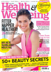 Health and Wellbeing July 2021 Front Cover